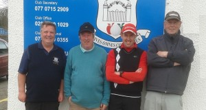 Loughgall Golf Club, official 2015 golfing season underway with the Captains Drive!