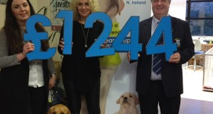 Captains Charity – Guide Dogs NI – £1,244 – well done Eddie