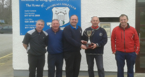 TEAM CHALLENGE – Jimmy Bruen Team win on 2nd play-off hole