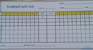 This Weeks competitions – Saturday – Club Stableford played off Green Tees