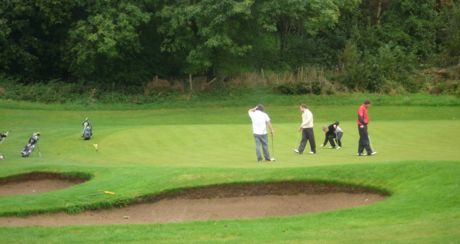 Please repair pitch marks on YOUR GREEN – Check the time-sheet to find your green