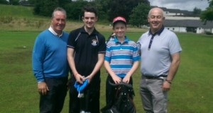 JUNIOR PRIZE WINNERS FROM STEPHEN WILSONS CAPTAINS DAY