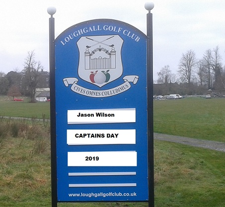 Captains Day Tee Times are online – check your time