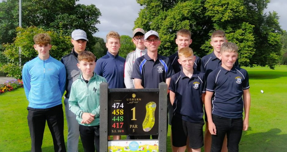 Juniors win Craigavon Cup