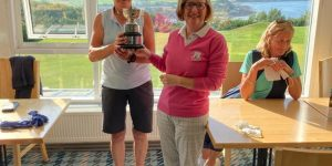 Veterans Cup Winner 2021 – Lynne Coote from Loughgall Golf Club